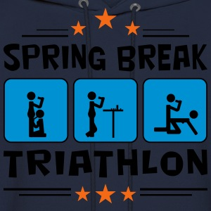 spring break triathlon T-Shirts - Men's Hoodie