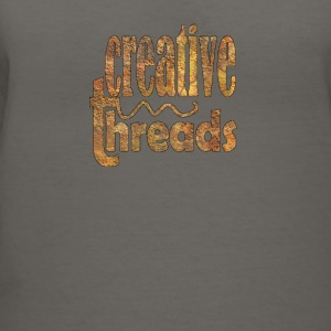CreativeThreads-oldwall Tanks - Women's V-Neck T-Shirt