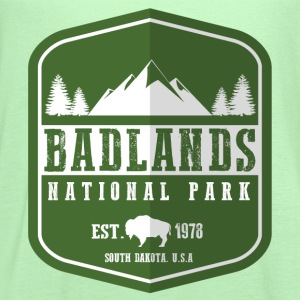 Badlands National Park Women's T-Shirts - Women's Flowy Tank Top by Bella