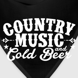 Country Music and Cold Beer - Bandana
