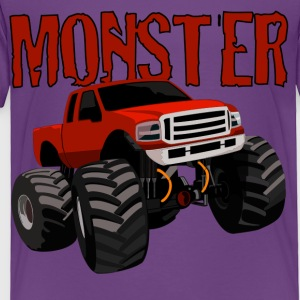 MONSTER Kids' Shirts - Toddler Premium T-Shirt