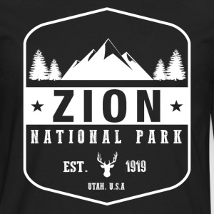 Zion National Park T-Shirts - Men's Premium Long Sleeve T-Shirt