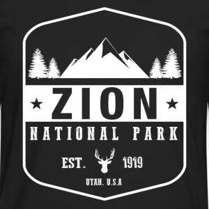 Zion National Park Women's T-Shirts - Men's Premium Long Sleeve T-Shirt