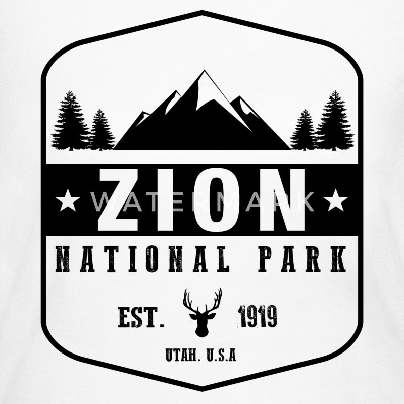 Zion National Park Long Sleeve Shirts - Women's Long Sleeve Jersey T-Shirt