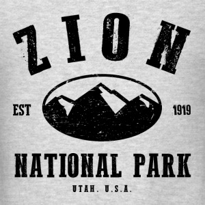 Zion National Park Long Sleeve Shirts - Men's T-Shirt