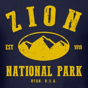 Zion National Park Hoodies - Men's T-Shirt