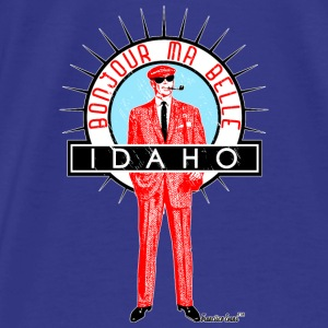 Bonjour ma belle Idaho, Francisco Evans ™ Bags & backpacks - Men's Premium T-Shirt