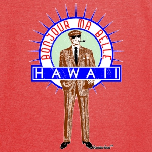 Bonjour ma belle Hawaii, Francisco Evans ™ Bags & backpacks - Vintage Sport T-Shirt