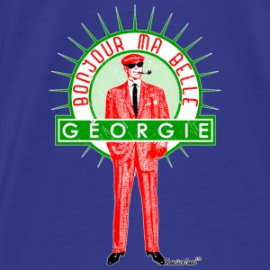 Bonjour ma belle Géorgie, Francisco Evans ™ Bags & backpacks - Men's Premium T-Shirt