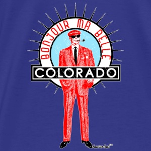 Bonjour ma belle Colorado, Francisco Evans ™ Bags & backpacks - Men's Premium T-Shirt