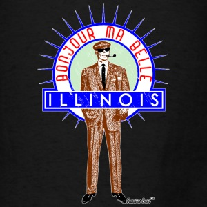 Bonjour ma belle Illinois, Francisco Evans ™ Bags & backpacks - Men's T-Shirt
