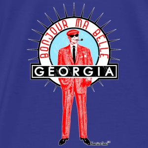 Bonjour ma belle Georgia, Francisco Evans ™ Bags & backpacks - Men's Premium T-Shirt