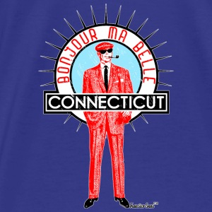 Bonjour ma belle Connecticut, Francisco Evans ™ Bags & backpacks - Men's Premium T-Shirt