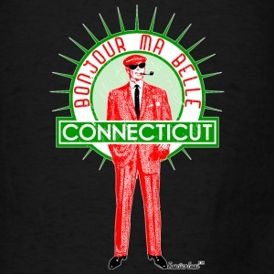 Bonjour ma belle Connecticut, Francisco Evans ™ Bags & backpacks - Men's T-Shirt