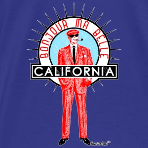 Bonjour ma belle California, Francisco Evans ™ Bags & backpacks - Men's Premium T-Shirt