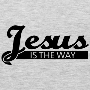 Jesus is the way Tanks - Men's Premium Long Sleeve T-Shirt