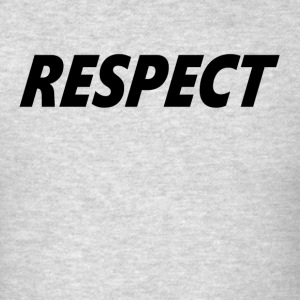 RESPECT Tank Tops - Men's T-Shirt