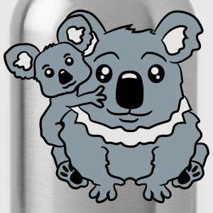 sweet little baby koala cute mamapapa child sittin T-Shirts - Water Bottle
