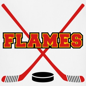 Flames T-Shirts - Adjustable Apron