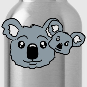 sweet little baby koala cute mamapapa child baby k T-Shirts - Water Bottle
