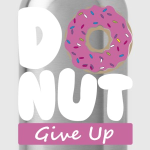 Donut Give Up - Water Bottle