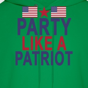 party_like_a_patriot - Men's Hoodie