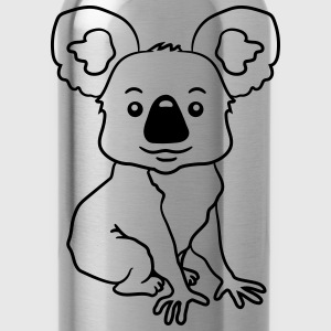 small sitting sweet plush koala T-Shirts - Water Bottle