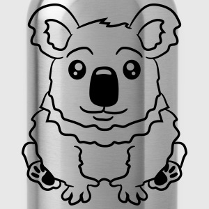small fat sitting sweet plush koala T-Shirts - Water Bottle