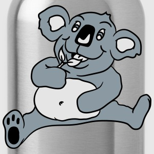 small big fat eaten hungry sitting sweet plush koa T-Shirts - Water Bottle