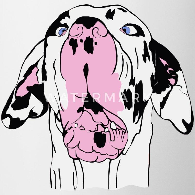 Mutka The Expressive Great Dane Mug - Coffee/Tea Mug
