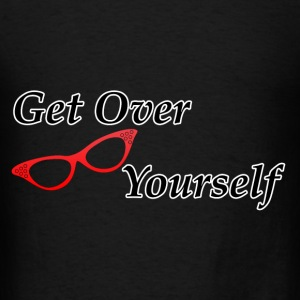 Canvas Tote Bag    Get Over Yourself  - Men's T-Shirt