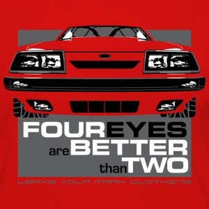 Four Eyes are Better than Two Fox Body Ford Mustan - Women's Premium Long Sleeve T-Shirt