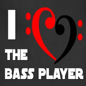 I Heart the Bass Player - Adjustable Apron