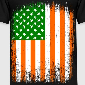 Irish American Flag Kids' Shirts - Toddler Premium T-Shirt