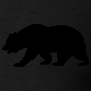 California Bear Zip Hoodies & Jackets - Men's T-Shirt