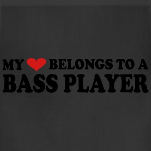 MY HEART BELONGS TO A BASS PLAYER - Adjustable Apron