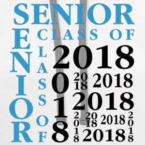 Senior Class Of 2018 T-Shirts - Contrast Hoodie