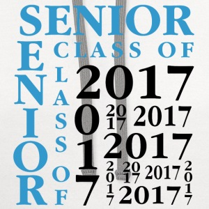 Senior Class Of 2017 T-Shirts - Contrast Hoodie