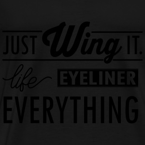 just wing it Tanks - Men's Premium T-Shirt
