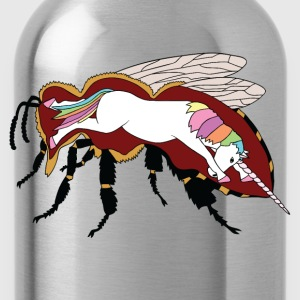Unicorn in Honey Bee Tanks - Water Bottle