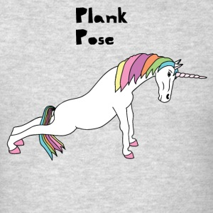 Yoga Unicorn Plank Pose Tank Tops - Men's T-Shirt