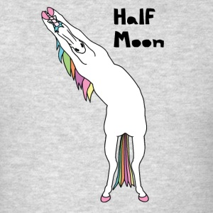 Yoga Unicorn Half Moon Pose Tank Tops - Men's T-Shirt