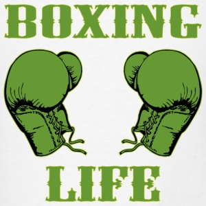 Boxing Life  - Men's T-Shirt