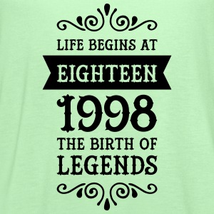 Life Begins At Eighteen -1998 The Birth Of Legends T-Shirts - Women's Flowy Tank Top by Bella