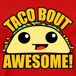 Taco Bout Awesome Caps - Men's Premium T-Shirt