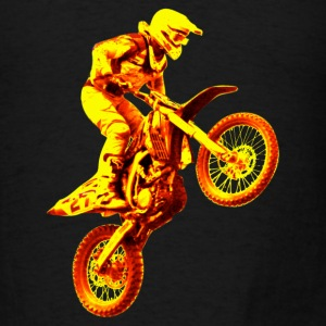 enduro orange Long Sleeve Shirts - Men's T-Shirt