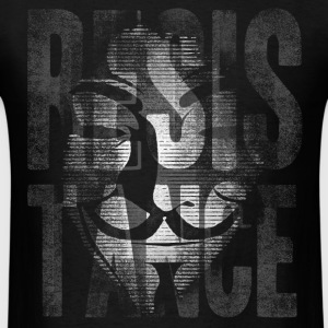 Anonymous Resistance - Men's T-Shirt