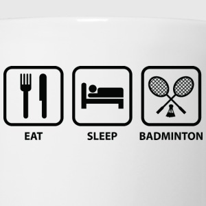 Eat Sleep Badminton - Coffee/Tea Mug