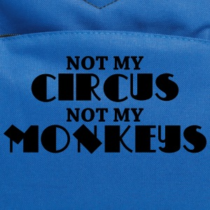 Not my circus, not my monkeys Women's T-Shirts - Computer Backpack