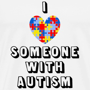 LOVE Autism - Pin - Men's Premium T-Shirt